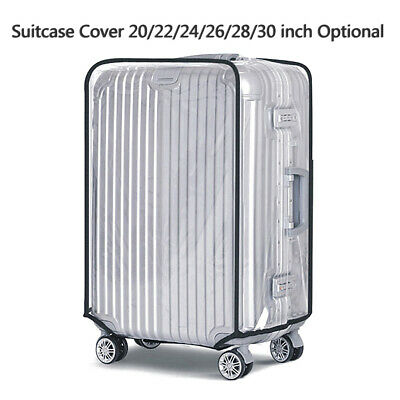 Transparent PVC Waterproof Suitcase Success Travel Luggage Protector Covers Case
