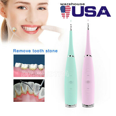 USA Dental Electric Sonic Scaler Handpiece Silicone Teeth Whitening Clean Tooth