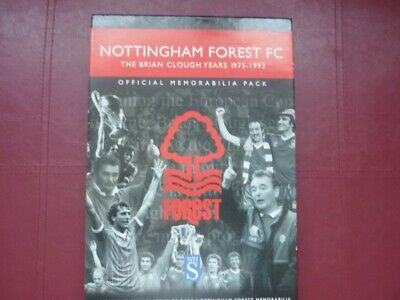 Nottingham Forest FC The Brian Clough Years 1975-1993 Official Memorabilia Pack