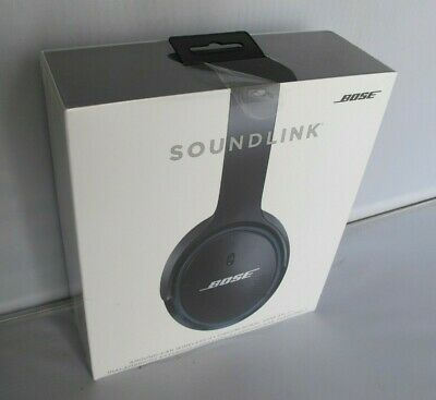 Bose SoundLink II Around-Ear Headband Wireless Headphones Black