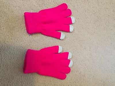 Childs Touch Screen Gloves. New