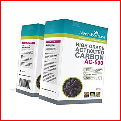 All Pond Solutions High Grade Activated Carbon 4kg 8 boxes - BULK PURCHASE Fish