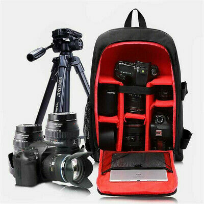 Camera Backpack Large Capacity DSLR SLR Camera Bag Outdoor Hiking For Sony Canon