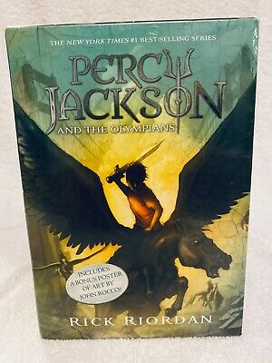 Percy Jackson and the Olympians 5 Book Boxed  Set Paperback by Rick Riordan NEW
