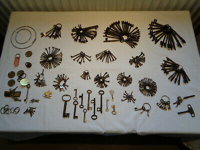 Large collection, of 312, various age, including Antique, Keys.