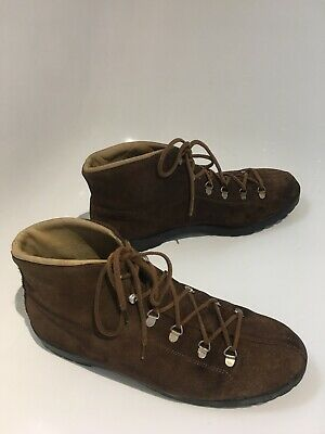 Moss Bross Covent Garden Ladies Hiking Lace Up Vintage Boots
