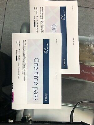 Two UNITED CLUB PASSES For Your Trip exp 12/8/2020.