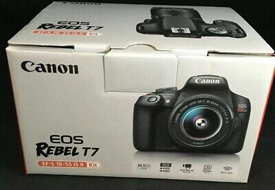Canon EOS Rebel T7 24.1 MP Digital SLR Camera - (Kit with 18-55 Lens)#8899
