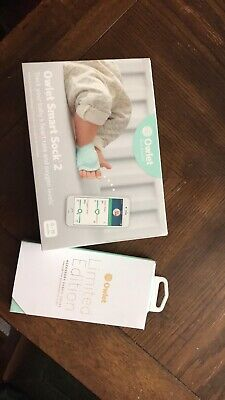 Owlet Smart Sock 2 Baby Monitor with Limited Edition 🌈 Socks
