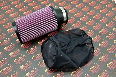 Pair BANSHEE YFZ350 7 Inch AIR FILTER and Pre COVER Fit 38-41mm Carbs
