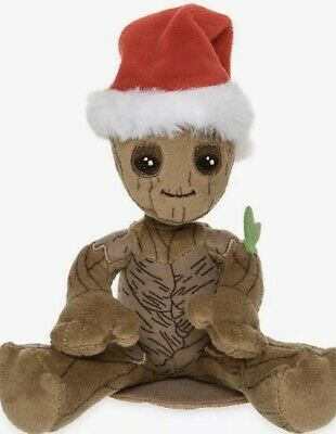 Disney Parks Groot Christmas Mini Magnetic Shoulder Plush-New With Tags
