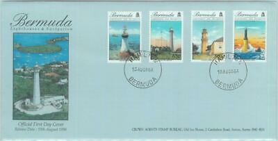 83852 - BERMUDA - Postal History -  FDC COVER  - 1996 LIGHTHOUSES Architecture