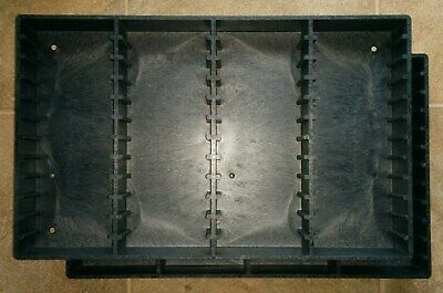 Two Bryco CP-48 Audio CassetteStorage Wall-Mountable Tower Racks (for96 Tapes)