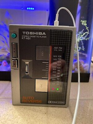 Toshiba Stereo Cassette Player KT-AS1