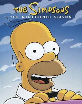 Simpsons: Season 19 New Dvd