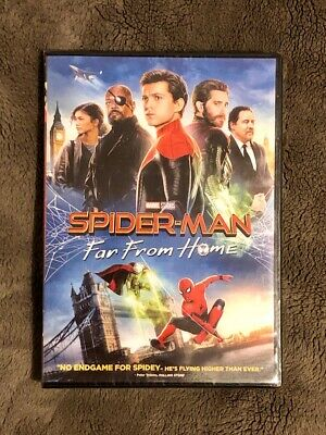 Spider Man Far From Home Brand New DVD Marvel Studios Free Shipping and Returns
