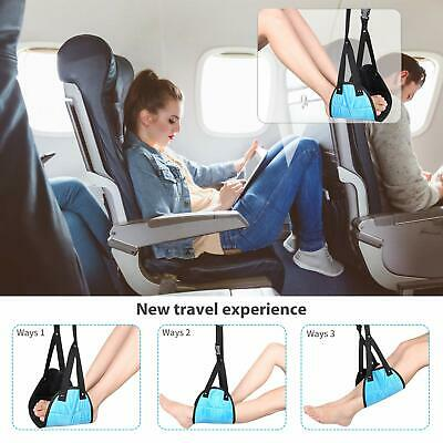 Comfy Hanger Travel Airplane Footrest Hammock Foot Made  Travel Pillows  Nylon