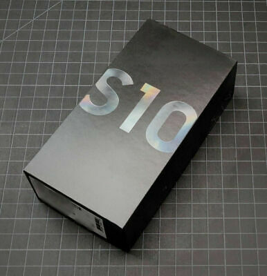 Samsung Galaxy S10 SM-G973U - 128GB - Prism Black (Unlocked) (Single SIM)
