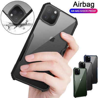 For iPhone 11 Pro Max Case Heavy Duty Shockproof Clear Slim Hybrid Bumper Cover