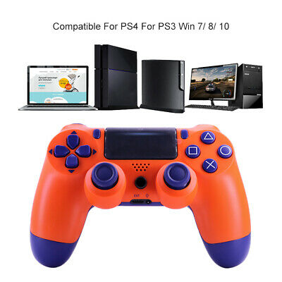 PS4 Wireless Controller Game Pad PlayStation Dualshock 4 Orange For SONY - Pro