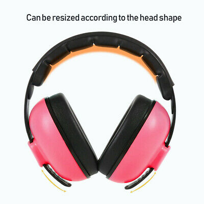 Kids Folding Ear Defenders Children Baby Muffs Noise Reduction Protector Earmuff