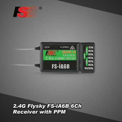 2.4G Flysky FS-iA6B 6Ch Receiver PPM Output with iBus Port Compatible T6C3