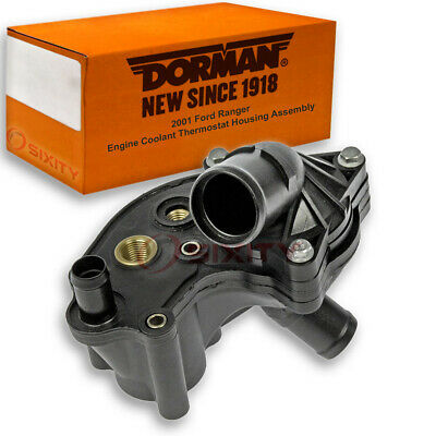 Dorman Coolant Thermostat Housing Assembly for Ford Escape 2001-2004 2.0L L4 xv