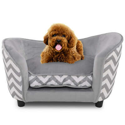 Pet Sofa Bed Dog Cat Kitten Puppy Couch Soft Mat Cushion Chair Seat Lounger UK