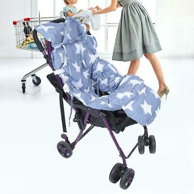 Star Pattern Pillow Kids Baby Support Cushion Pad Stroller Cart Warm Cover Wrap