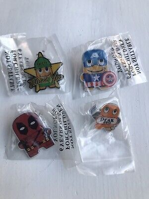 Amazon Peccy Pins Captain America Deadpol Safety Thank You