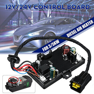 12V 24V Air Diesel Heater Parking Remote Controller LCD Monitor Switch Board