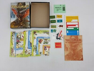 Talisman The Magical Quest Game Second Edition Complete RPG Fantasy Role Playing