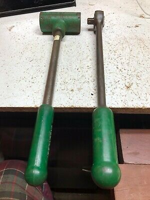 """Greenlee 1/2"""" drive ratchet and knockout puller"""