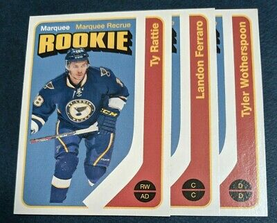 2014-15 2014-2015 Upper Deck O-Pee-Chee OPC lot of 3 Retro Marquee Rookies
