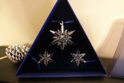 Swarovski Christmas Ornament Set 2006