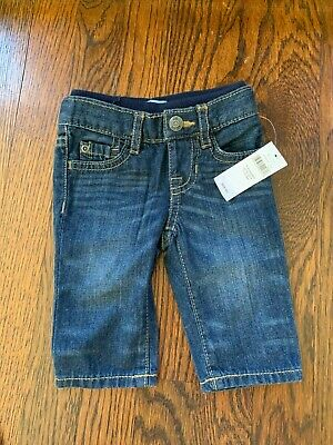 Boys Nwt Baby Gap Straight Fit Jeans Size 0-3 Mos