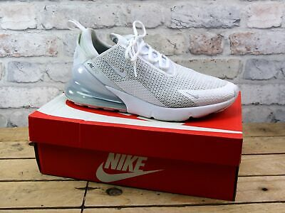 Mens Nike Air Max 270 White Mesh Sports Running Gym Trainers Size 9.5 Rrp £115