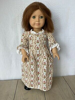 American Girl 18In Doll Felicity Pleasant Company With Dress Shoes