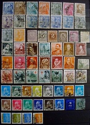 Timbres Espagne (7 Planches)