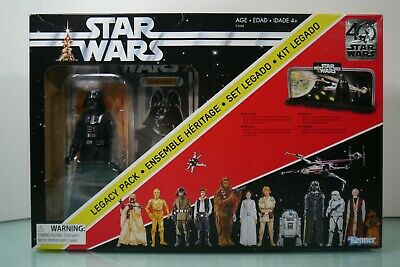 Star Wars Darth Vader Legacy Pack 40th Anniversary Special Edition Figure SEALED
