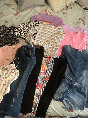 Fantatsic Bundle Of Girls NEXT Clothes Age 5 Dress Leggings Jeans Jumper