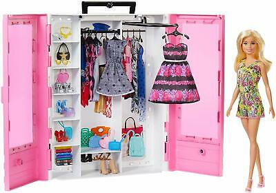 Barbie Fashionistas Ultimate Closet Doll with Clothing and Accessories