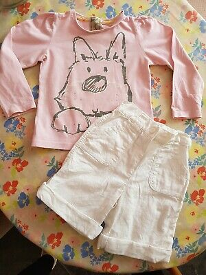❤ Baby Next Girls Outfit Set Top & Shorts Age 12-18months 1-2 Years ❤
