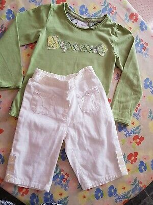 ❤ Girls Next Outfit Set Top & Shorts Age 12-18minths 1-1/half  Years ❤