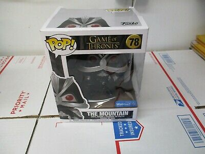 Funko Pop Game Of Thrones #78 The Mountain Only @ Walmart New W/Box Damage