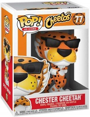 Funko - POP Ad Icons: Cheetos - Chester Cheetah Brand New In Box