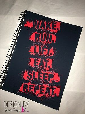Weights Book / crossfit / workout fitness tracker / gym diary / training /Repeat