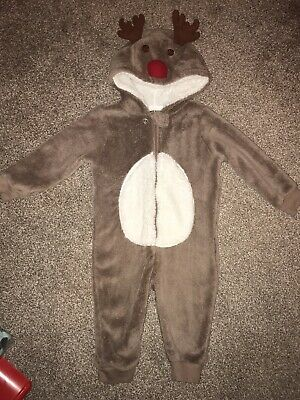 Reindeer All In One 9-12 Months Matalan