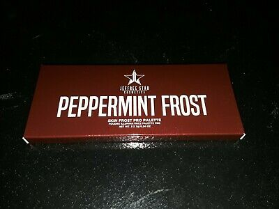 Jeffree Star Peppermint Frost Highlighter Palette Limited Edition