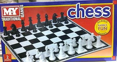2 Player Traditional Chess Game Set Classic Family Fun Game Set